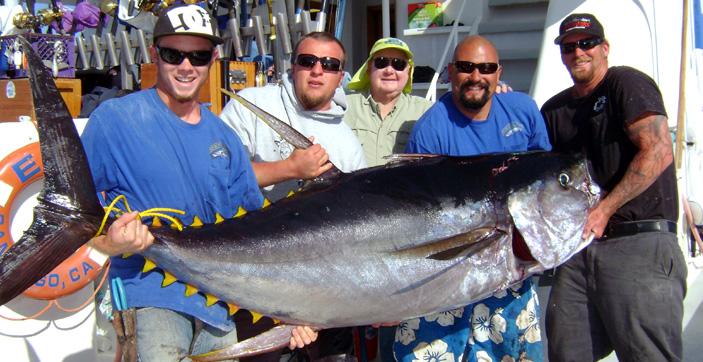 Excel long range sportfishing san diego ca for San diego tuna fishing